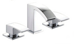 Grosvenor 3TH Basin/Bath Filler with Open Waterfall Spout - C2B Trade Store