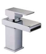Grosvenor Open Waterfall Spout Basin Mono inc. Click-Clack Waste - C2B Trade Store