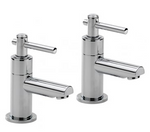 Trio Lever-Head Basin Taps (pair) - C2B Trade Store