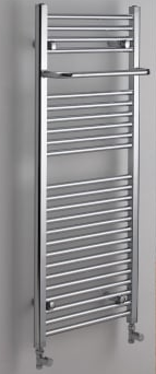Ebony Towel Rail - Chrome - C2B Trade Store
