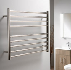 Libra Horizontal Towel Rail - Stainless Steel