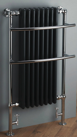 Monza 1100x630 Rail - Chrome with Anthracite Radiator - C2B Trade Store