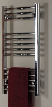 QX Flat Towel Rail - White - C2B Trade Store