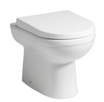 Carolina Back-to-Wall Pan & Soft Close Seat - C2B Trade Store