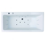 Aston 1700x800 Freestanding Bath with Option 5 Whirlpool - C2B Trade Store
