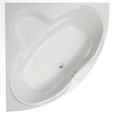 Colorado 1400 Corner Bath & Panel with Option 1 Whirlpool - C2B Trade Store