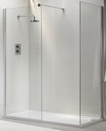 Genesis Shower Glass Panel (Various Options) - C2B Trade Store