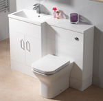 Genesis Q-Line Square 1-Piece Basin (Left & Right Handed Options) - C2B Trade Store