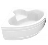 Idaho 1200x1200 Corner Bath & Panel with Option 4 Whirlpool - C2B Trade Store