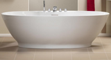 Oregon 1850x850 Freestanding Bath with Option 4 Whirlpool - C2B Trade Store