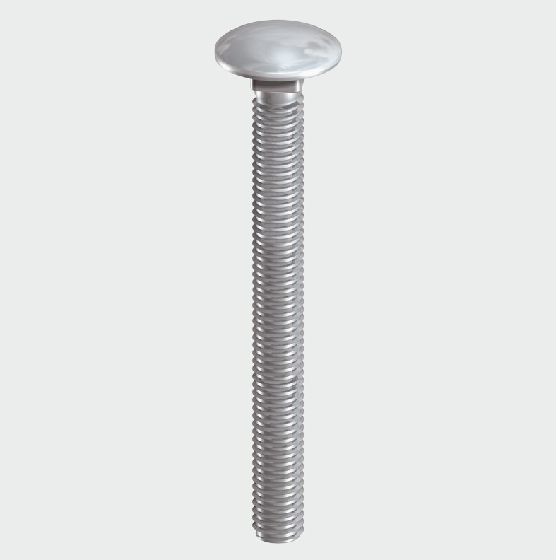 Carriage Bolt DIN 603 - A2 SS - C2B Trade Store