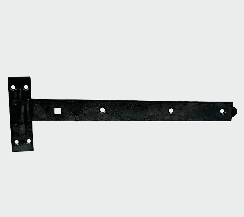 Straight Band Hook Plate Black - C2B Trade Store