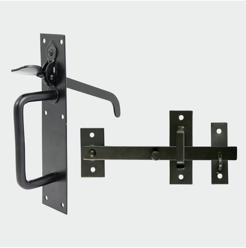 Heavy Suffolk Latch Black - C2B Trade Store