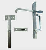 Medium Suffolk Latch Zinc - C2B Trade Store