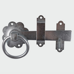 Ring Gate Latch - Plain Zinc - C2B Trade Store