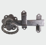 Twisted Ring Gate Latch HDG - C2B Trade Store
