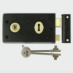 Rim Sash Lock - Black - C2B Trade Store