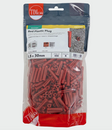 Red Plastic Plug - C2B Trade Store