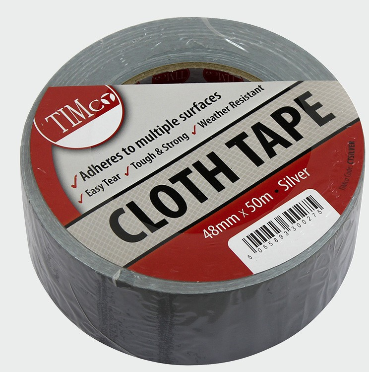 Cloth Tape - Silver - C2B Trade Store