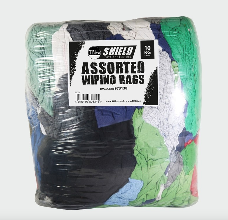 Shield Assorted Wiping Rags - C2B Trade Store