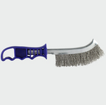 Blue Handle Wire Brush S/Steel - C2B Trade Store