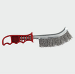 Red Handle Wire Brush Steel - C2B Trade Store
