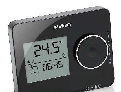 Warmup Tempo Thermostat - Piano Black - C2B Trade Store