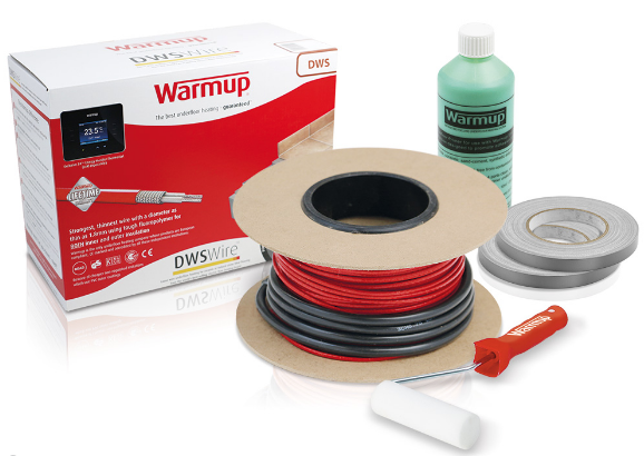 Warmup Loose Wire Underfloor Heating Kit - C2B Trade Store