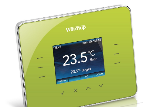 Warmup 3iE Thermostat - Leaf Green - C2B Trade Store