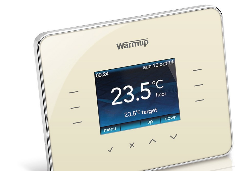 Warmup 3iE Thermostat - Classic Cream - C2B Trade Store
