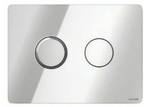 ACCENTO CIRCLE PNEUMATIC FLUSH BUTTONS CHROME - C2B Trade Store