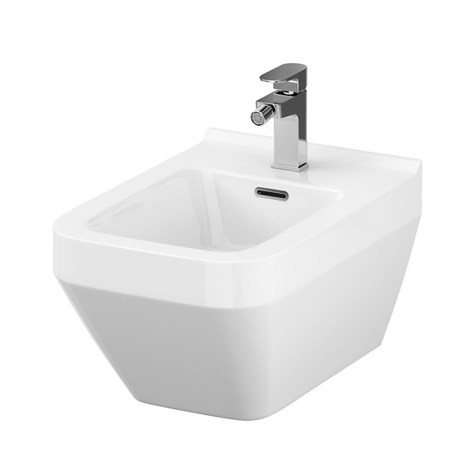 Crea Square Wall-Hung Bidet - C2B Trade Store