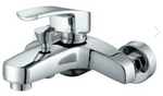 Alpi Wall-Mounted Bath Shower Mixer inc. Shower Kit - C2B Trade Store