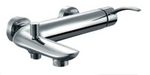 Empress Wall-Mounted Bath Shower Mixer inc. Shower Kit - C2B Trade Store