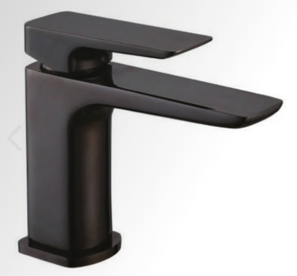 Monza Basin Mono inc. Click-Clack Waste - Black Chrome - C2B Trade Store