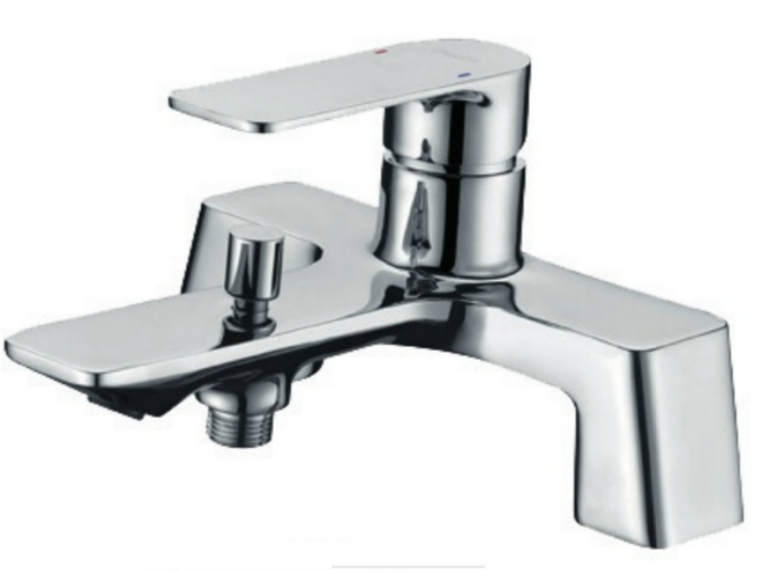 Seta Deck-Mounted Bath Shower Mixer ind. Shower Kit - C2B Trade Store