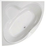 Colorado 1400 Corner Bath & Panel with Option 6 Whirlpool - C2B Trade Store