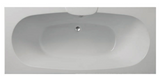 Nebraska 1800 x 800 Bath Superspec with Option 6 Whirlpool - C2B Trade Store