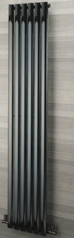 Oslo Towel Rail - Black Nickel - C2B Trade Store