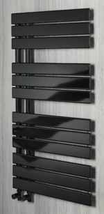 Stockholm 1080 x 550 Towel Rail - Black Nickel - C2B Trade Store