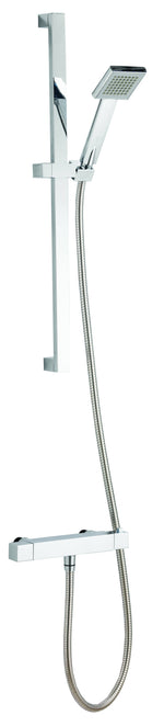 Ascent Square Shower Kit with Handset & Hose - C2B Trade Store