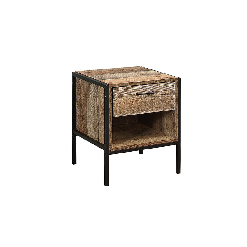 URBAN 1 DRAWER BEDSIDE RUSTIC - C2B Trade Store