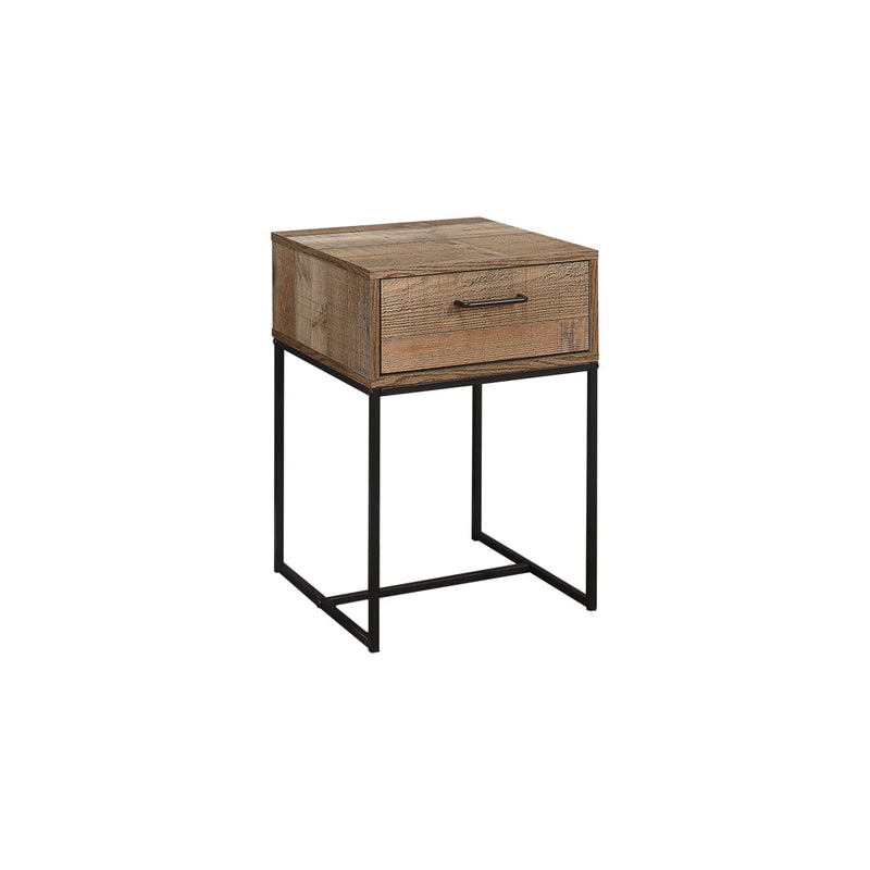 URBAN 1 DRAWER NARROW BEDSIDE RUSTIC - C2B Trade Store