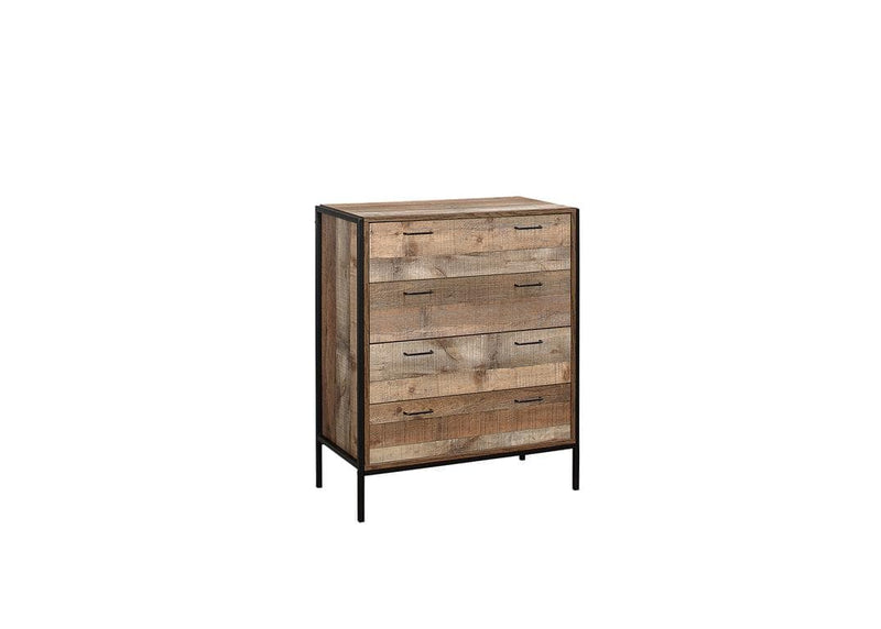 URBAN 4 DRAWER CHEST RUSTIC - C2B Trade Store