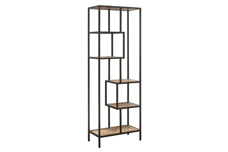 URBAN TALL SHELVING UNIT RUSTIC - C2B Trade Store
