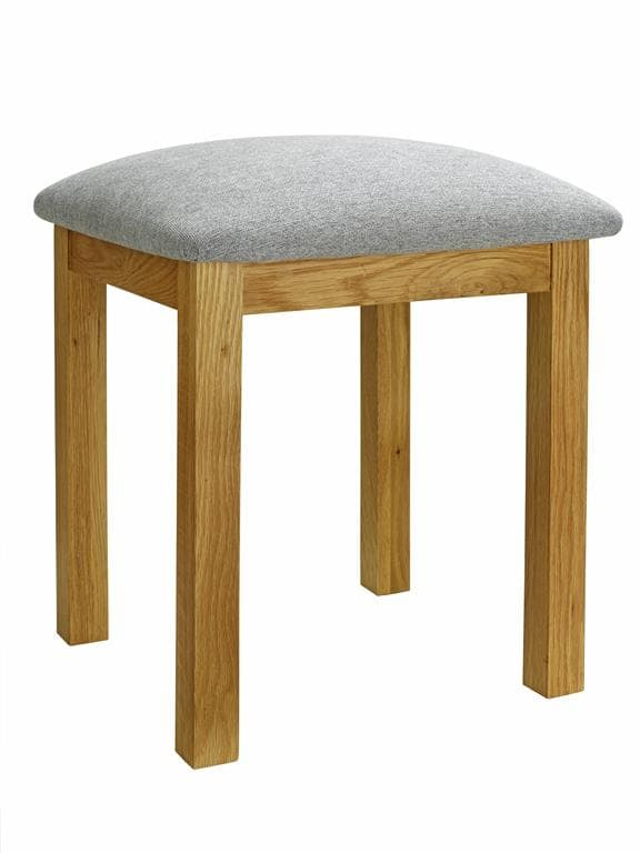 WOBURN STOOL OAK/OAK VENEERS - C2B Trade Store