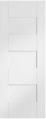 Internal White Pre-Finished Perugia Fire Door - C2B Trade Store