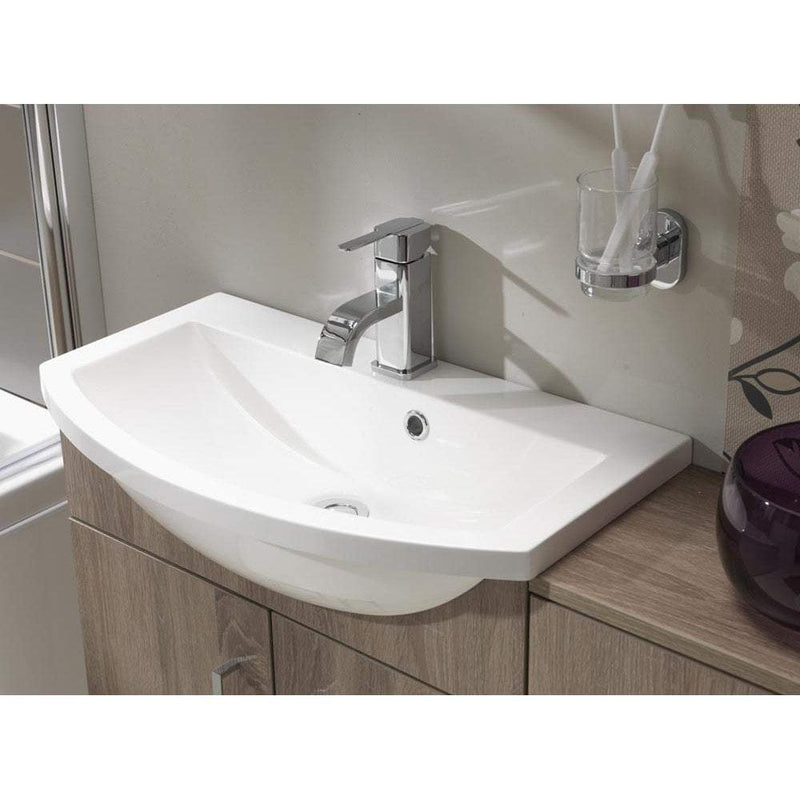 Eden Slimline Curved Resin Basin - C2B Trade Store