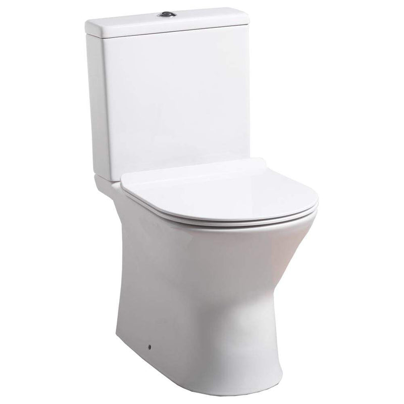 QX Venice Close Coupled Pan, Cistern & Soft Close Seat - C2B Trade Store