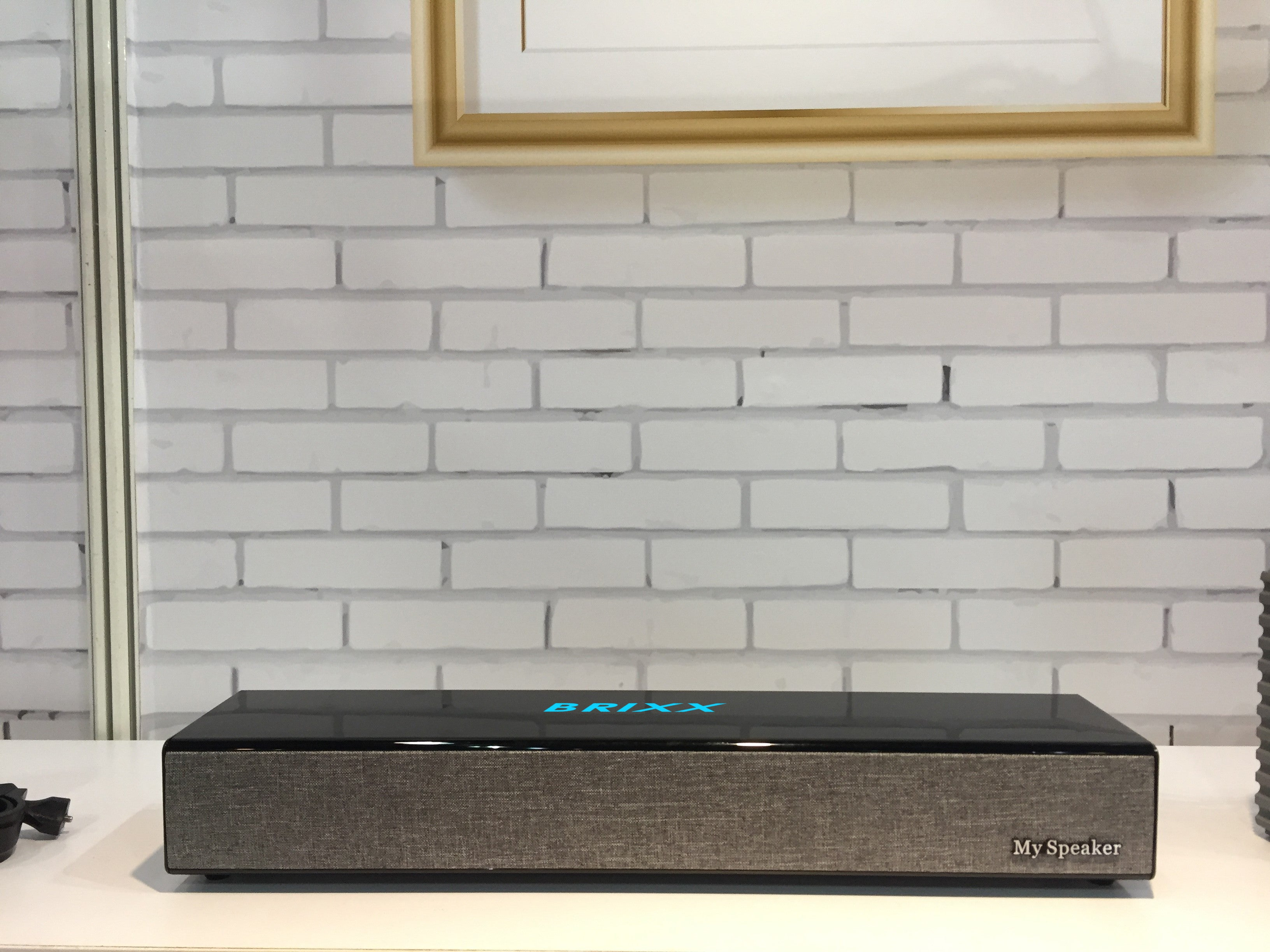 Brixx F020 Soundbar Multimedia Bluetooth Speaker System(Grey & Black)